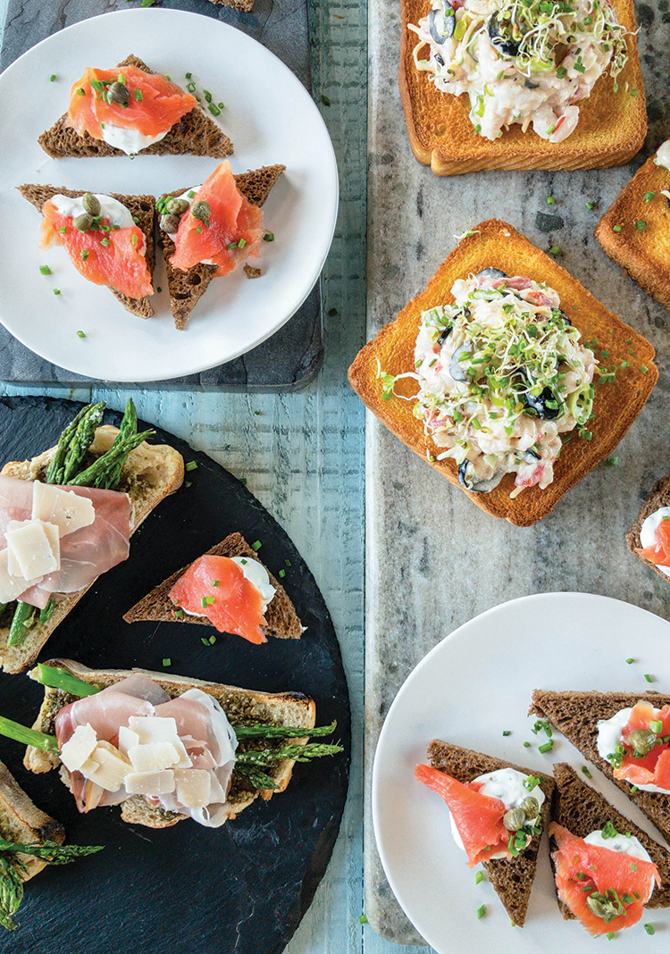 Let's Toast! Meal-Worthy Toast Recipes
